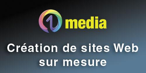 Créer un site Internet avec 01media spécialiste du digital à Bourg-en-Bresse
